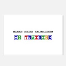 Radio Sound Technician In Training Postcards (Pack