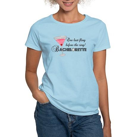 Bachelorette Party Women's Light T-Shirt
