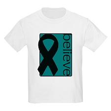 Teal (Believe) Ribbon T-Shirt