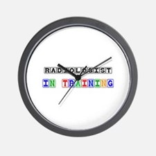 Radiologist In Training Wall Clock