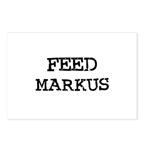 Feed Markus Postcards (Package of 8)