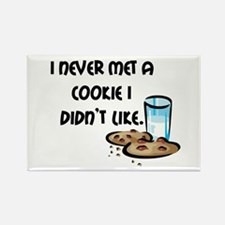 I Love Cookies Rectangle Magnet