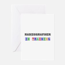 Radiographer In Training Greeting Cards (Pk of 10)