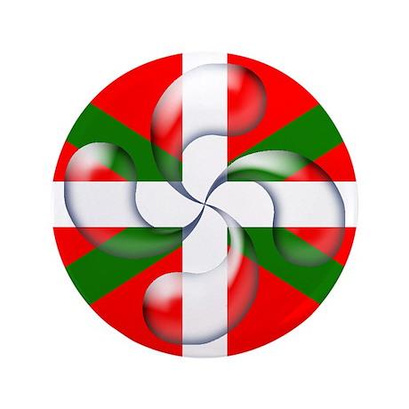 """Lauburu """"bubble"""" 3.5"""" Button (100 p"""
