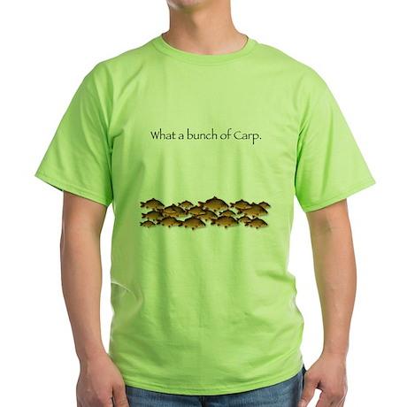 Bunch of Carp Green T-Shirt
