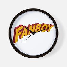 Fanboy Wall Clock