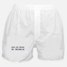 Race Car Driver In Training Boxer Shorts