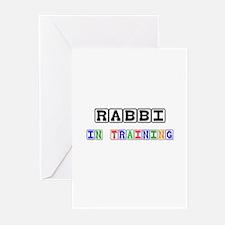 Rabbi In Training Greeting Cards (Pk of 10)