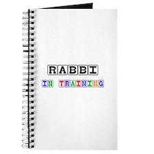 Rabbi In Training Journal
