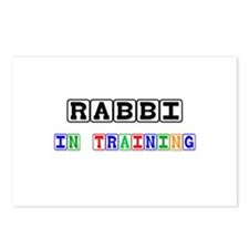 Rabbi In Training Postcards (Package of 8)