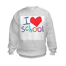 I Love (Heart) School Sweatshirt