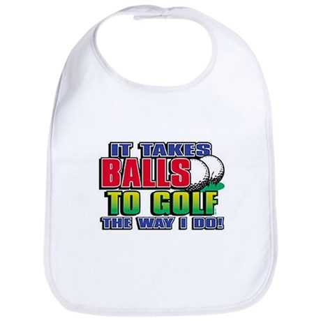Golf Way I Do Bib