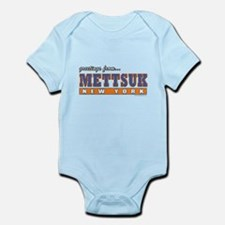 Mettsuk, NY... Infant Bodysuit