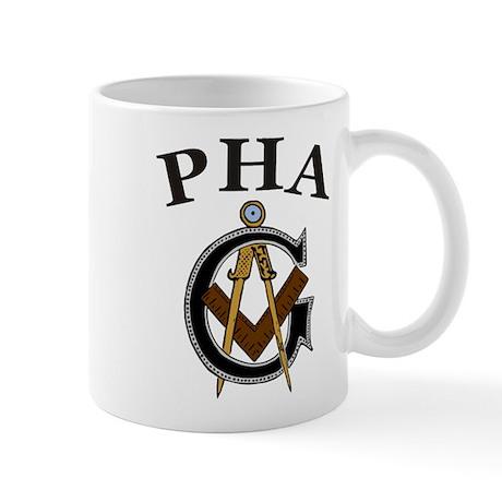 PHA Square and Compass Mug