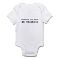 Publishing Copy Editor In Training Infant Bodysuit