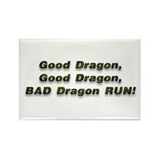 Good Dragon Rectangle Magnet (10 pack)