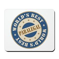 World's Best Paralegal Mousepad