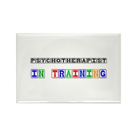 Psychotherapist In Training Rectangle Magnet