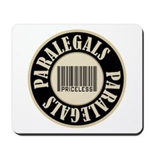 Paralegals Priceless Bar Code Mousepad