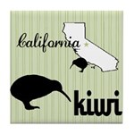 California Kiwi Tile Coaster