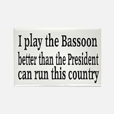 Bassoon Rectangle Magnet