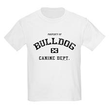 Canine Dept.- Bulldog T-Shirt