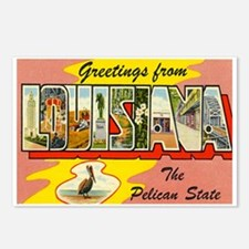 Louisiana LA Postcards (Package of 8)
