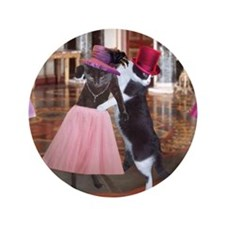 """Cute Dance party 3.5"""" Button"""