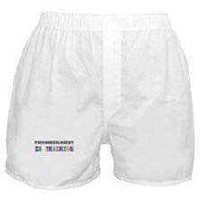 Psychobiologist In Training Boxer Shorts