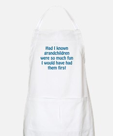 Had I Known BBQ Apron