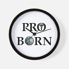 Pro Born Wall Clock