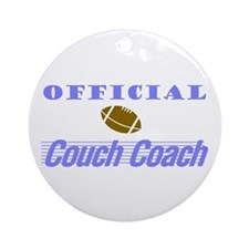 Official Couch Coach Keepsake (Round)