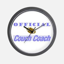 Official Couch Coach Wall Clock