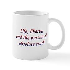 Pursuit of Truth Mug