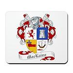 Maclaine Family Crest Mousepad