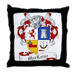 Maclaine Family Crest Throw Pillow