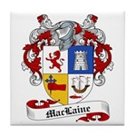 Maclaine Family Crest Tile Coaster