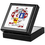 Maclaine Family Crest Keepsake Box