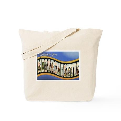 Massachusetts MA Tote Bag