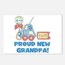 Proud New Grandpa Postcards (Package of 8)