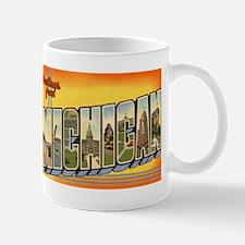 Michigan MI Mug