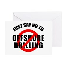 Say NO to Offshore Drilling Greeting Cards (Pk of