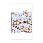 Alishan flowers Rectangle Sticker