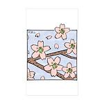 Alishan flowers Rectangle Sticker 50 pk)