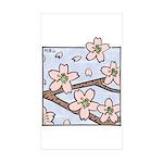 Alishan flowers Rectangle Sticker 10 pk)