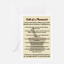 Pharmacist's Oath Greeting Card