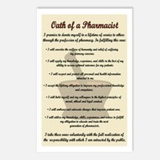 Pharmacist's Oath Postcards (Package of 8)
