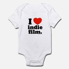 I Love Indie Film Infant Bodysuit