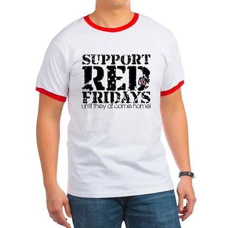 Red Fridays Ringer T