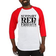 Red Fridays Baseball Jersey